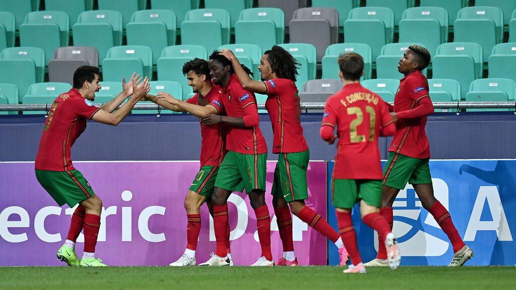 Festival de goles entre Portugal e Italia (5-3): Los lusos, rivales de España en semifinales