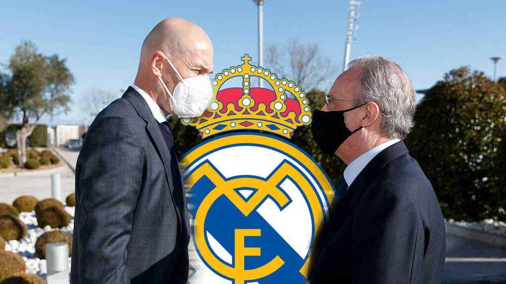 La carta abierta de Zidane donde carga contra Florentino Pérez