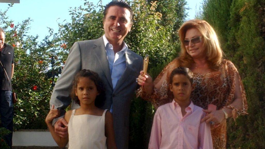 José Ortega Cano y Rocío Jurado, orgullosos de Gloria Camila y José Fernando