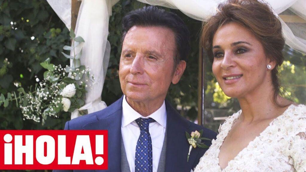 José Ortega Cano y Ana María Aldón el día de su boda