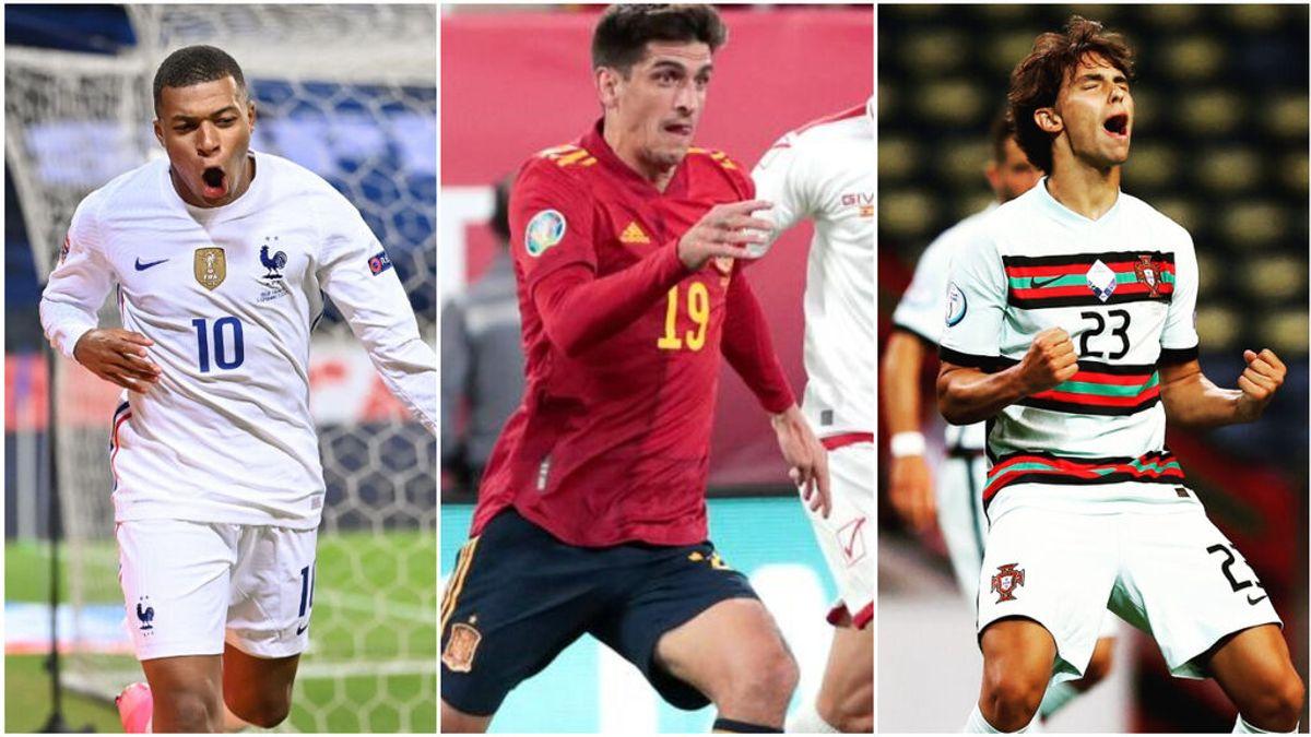 Los jugadores que disputarán por primera vez una Eurocopa: de Mbappé a Gerard Moreno