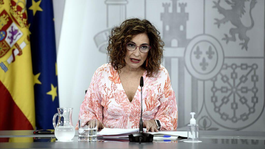 María Jesús Montero, ministra portavoz del Gobierno