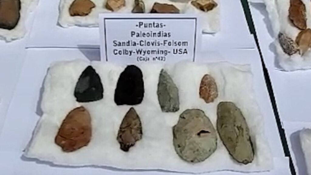 Un conjunto de puntas paleoíndias procedentes de Estados Unidos