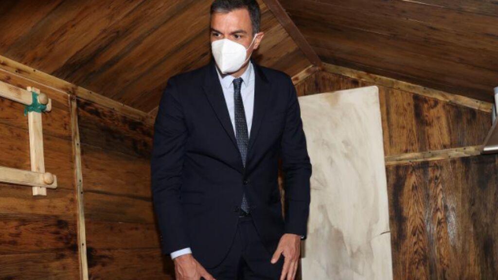 Pedro Sánchez en el zulo de Ortega Lara