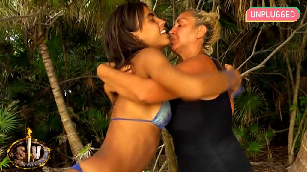 Sofía Suescun y Raquel Mosquera en 'Supervivientes'