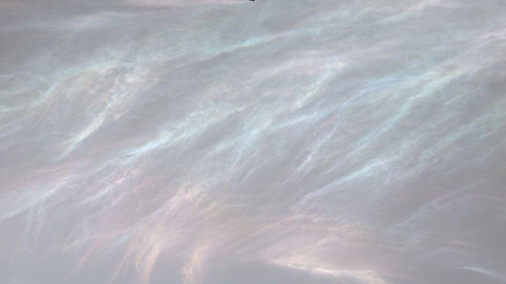 "Nubes de ""nácar"""