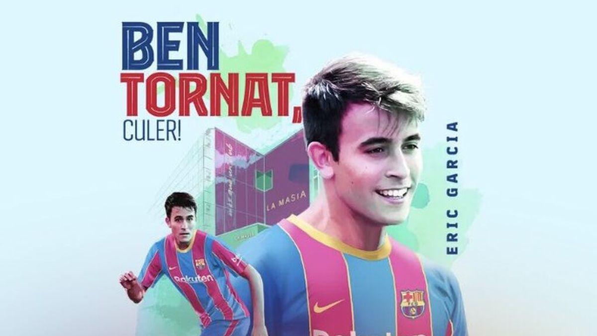 El Barcelona hace oficial el fichaje de Eric García