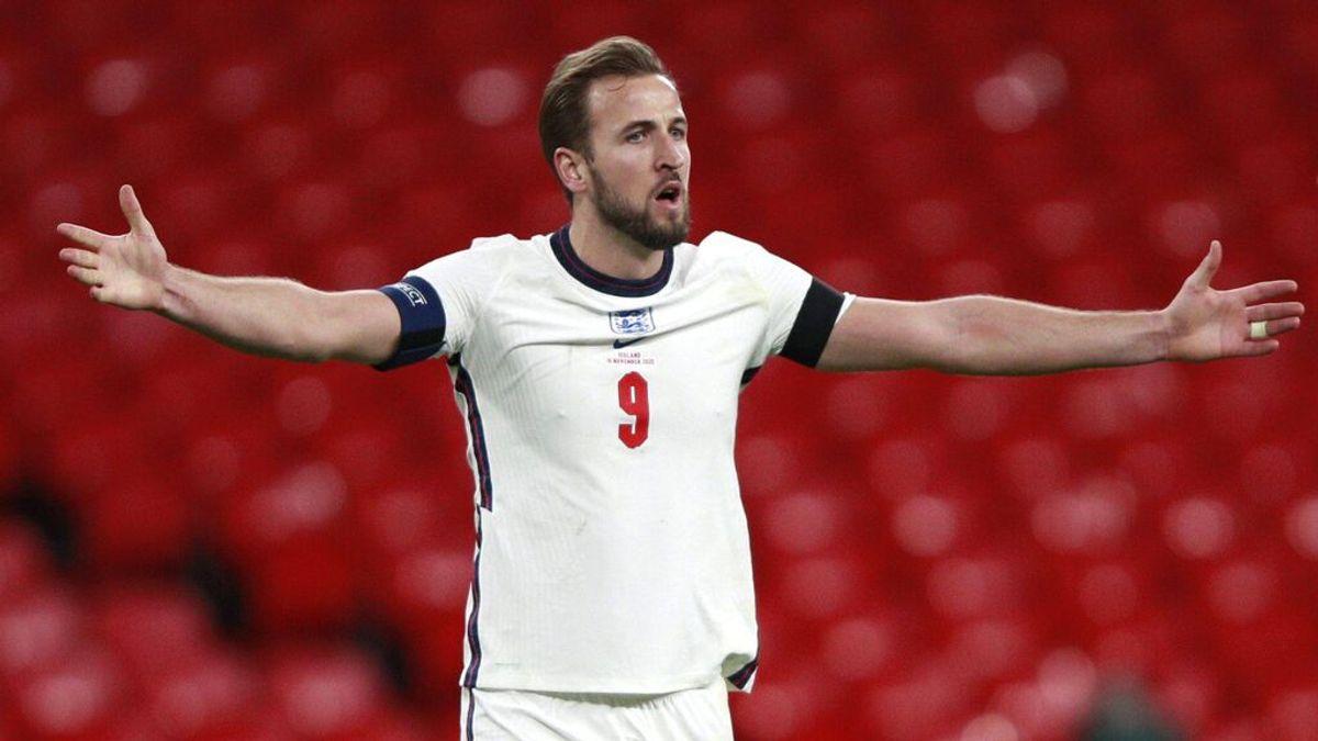 Harry Kane lidera la lista de Inglaterra para la Eurocopa