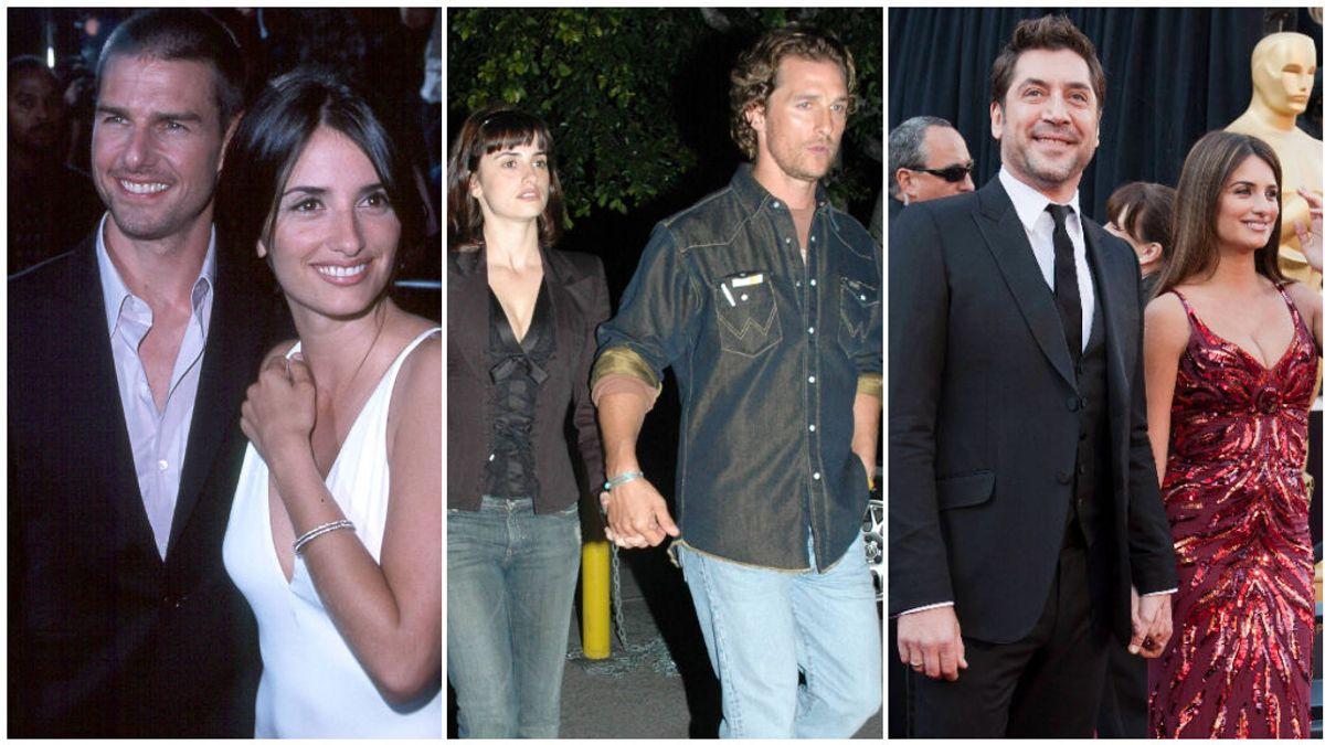 Estos han sido todos los novios famosos de Penélope Cruz: desde Tom Cruise y Matthew McConaughey hasta Javier Bardem.
