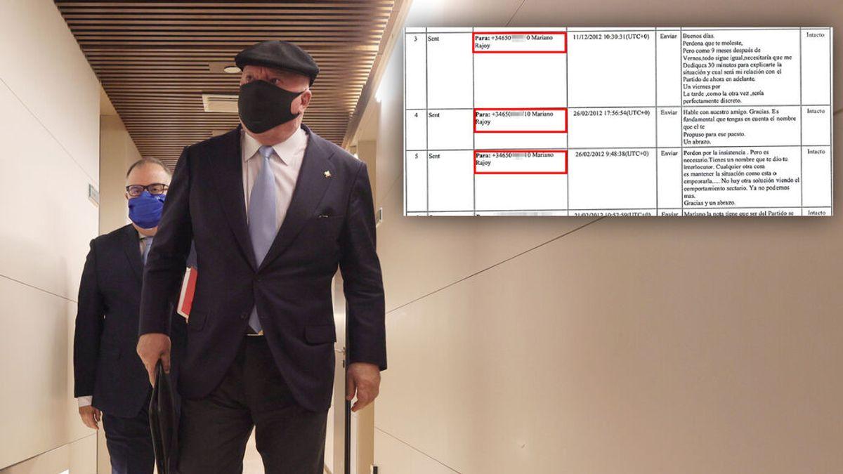 Villarejo sacó el móvil de Rajoy de la agenda robada a Bárcenas en Kitchen
