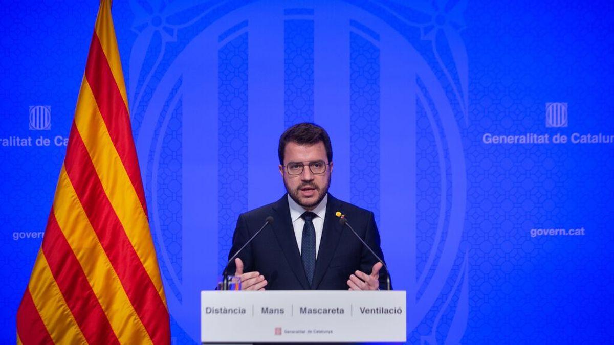 EuropaPress_3750055_presidente_generalitat_pere_aragones_rueda_prensa_posterior_consell
