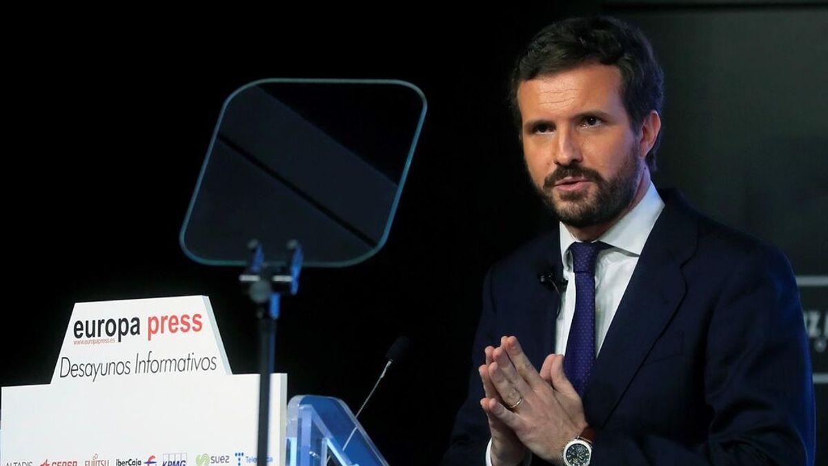 Casado retuerce sus argumentos para mantener el ataque a Sánchez por la crisis con Marruecos