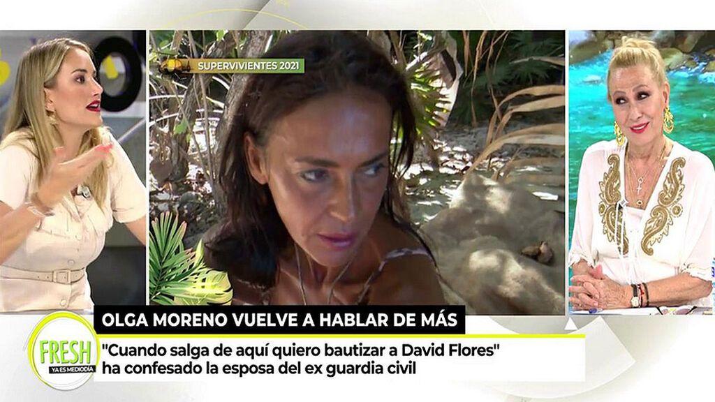 """Alba Carrillo estalla contra Olga Moreno: """"No puedo ni verla"""""""