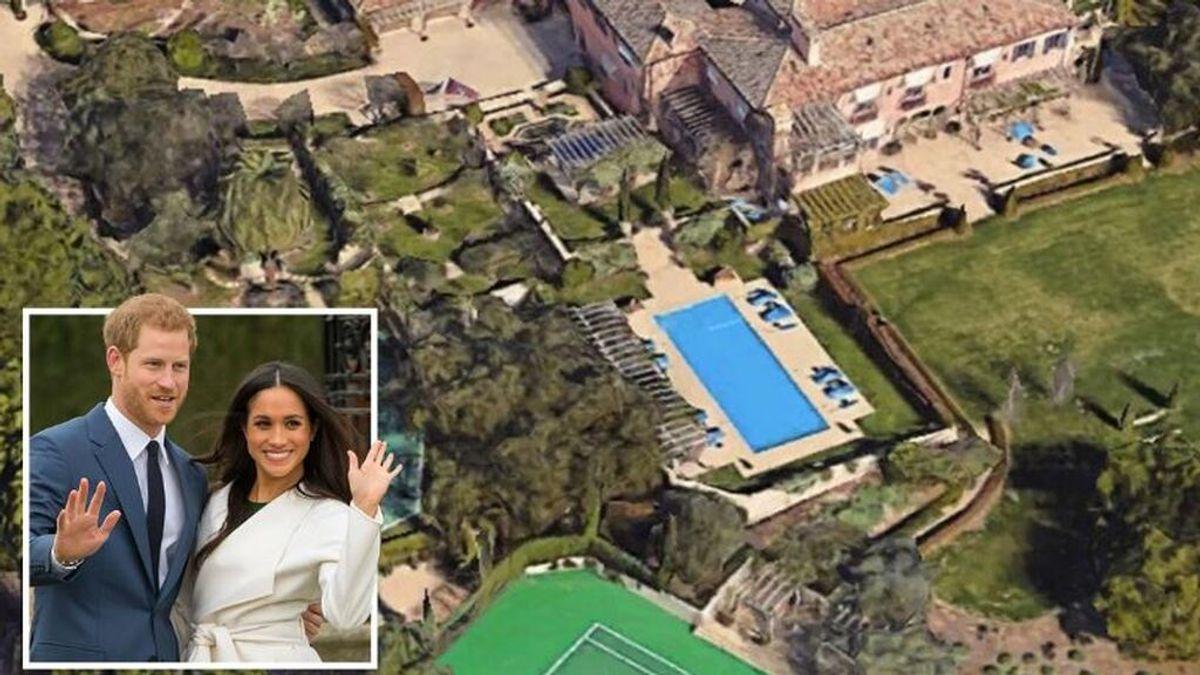 Hallan restos humanos  a pocos metros de la mansión del príncipe Enrique y Meghan Markle en California