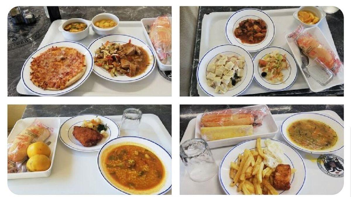 """Una joven hace viral el menú de 3'5 euros de la Universidad de Granada: """"Es una fantasía, se come como en casa"""""""