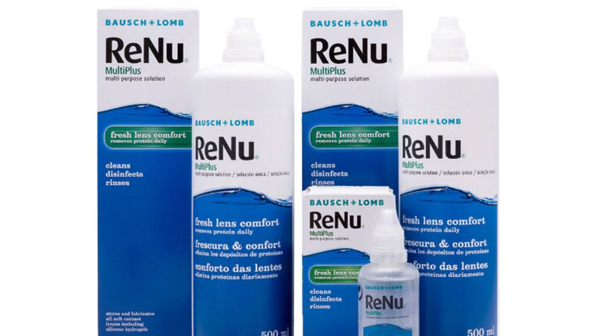 La Agencia del Medicamento retira lotes de solución para lentillas por posible contaminación