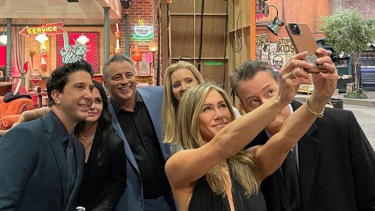 Jennifer Aniston comparte una foto 'entre bambalinas'