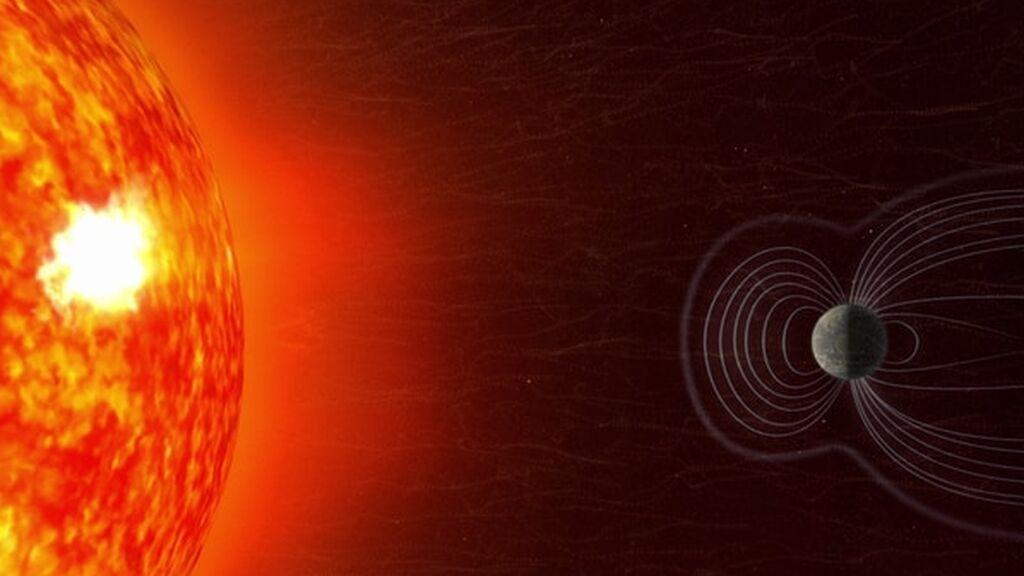 """Un """"bache"""" en el campo magnético de la Tierra está poniendo en peligro los satélites"""