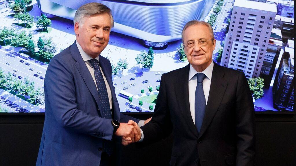 Ancelotti inicia su segunda etapa como entrenador del Real Madrid.