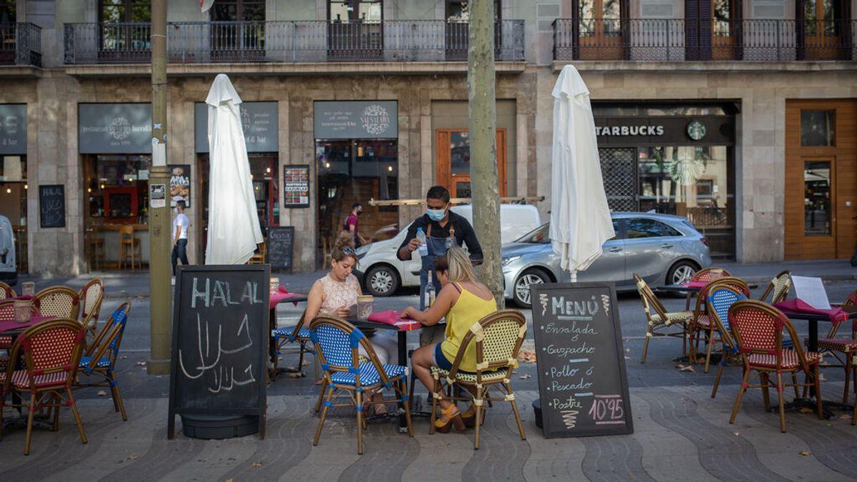 Los bares y restaurantes de Cataluña podrán abrir hasta la 1 de la madrugada a partir del viernes