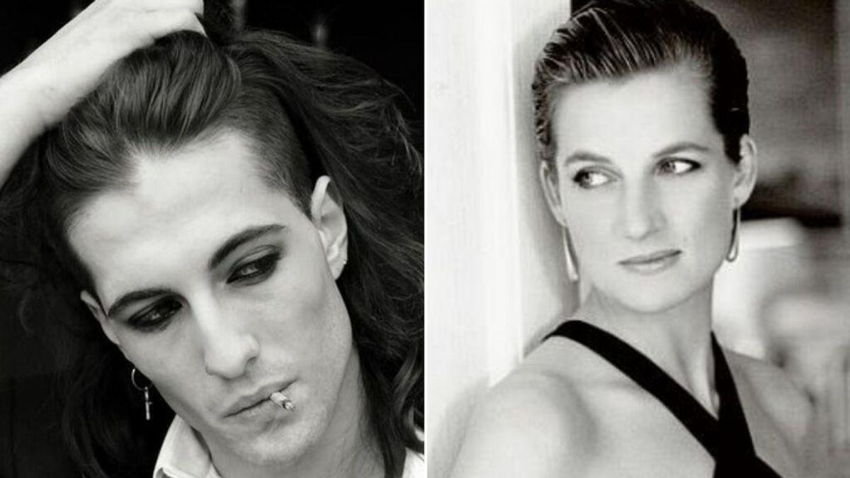 El parecido más 'real' de Damiano David: ¡un hilo de Twitter lo compara con Lady Di!