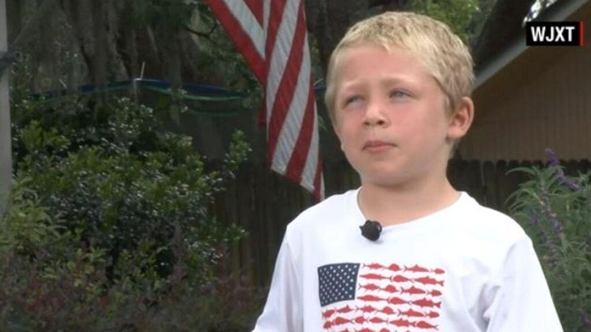 Un niño de siete años salva a su padre y a su hermana arrastrados por la corriente en un río de Florida