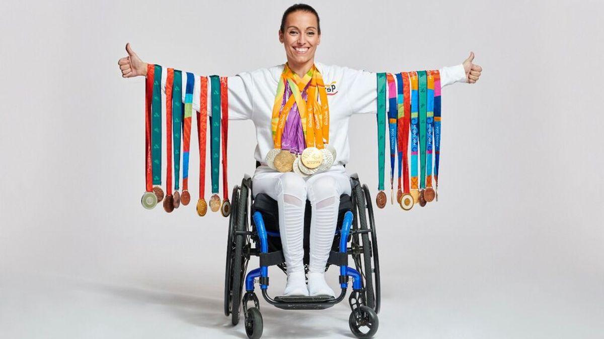Teresa Perales, la eterna y laureada sonrisa paralímpica