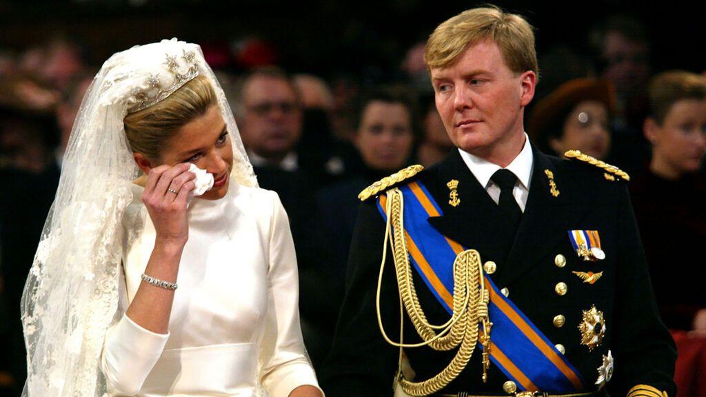 Para el día de su boda eligió un vestido de Valentino.