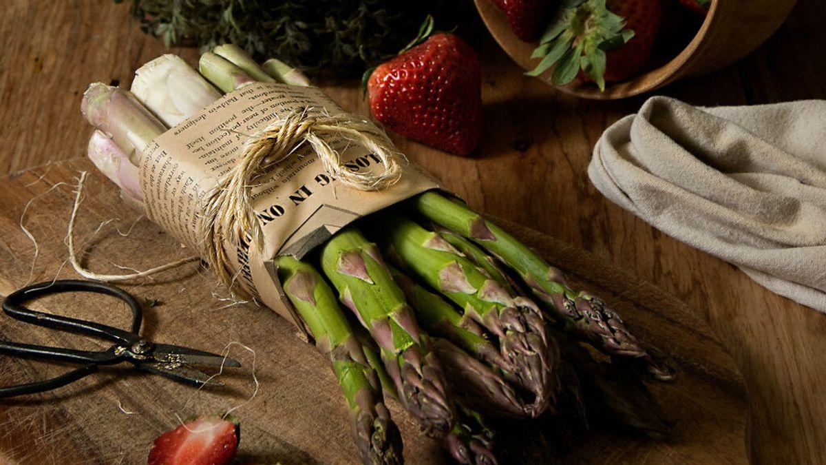 Una receta de espárragos se cuela en el BOE belga