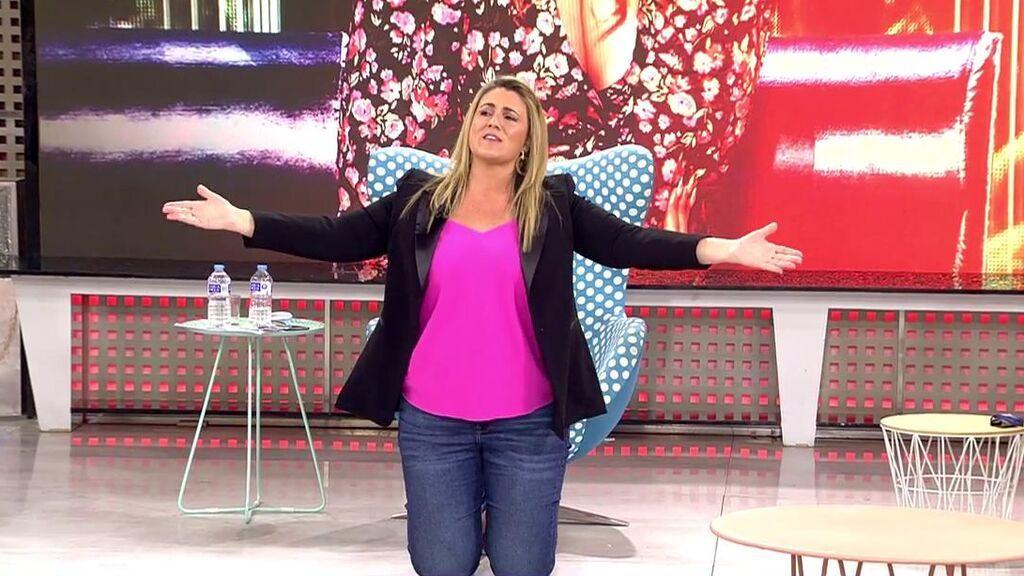 """Carlota Corredera se desespera en el debate con Kiko Matamoros: """"¿Qué tiene que hacer Rocío Carrasco, ponerse de rodillas y que la sigan flagelando?"""""""