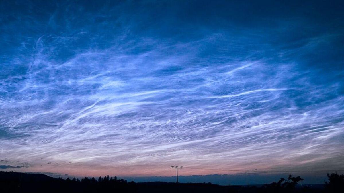 Dónde pueden verse las nubes noctilucentes, las más altas y brillantes del cielo