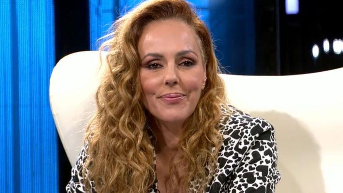 Rocío Carrasco, en su entrevista final en plató