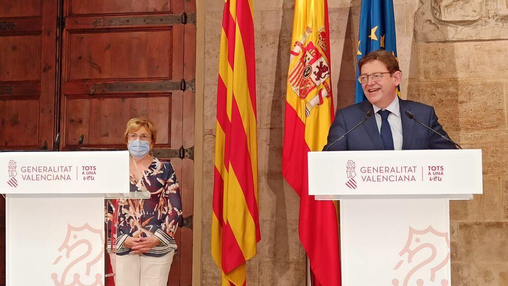 Ximo Puig anuncia el final del toque de queda en la Comunidad Valenciana después de siete meses en vigor