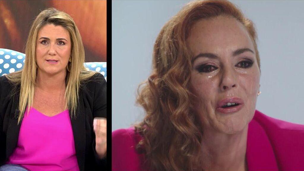 """Carlota Corredera aclara la polémica por el dinero que ha cobrado Rocío Carrasco: """"Lo leo todos los días en las redes y no puedo más"""""""