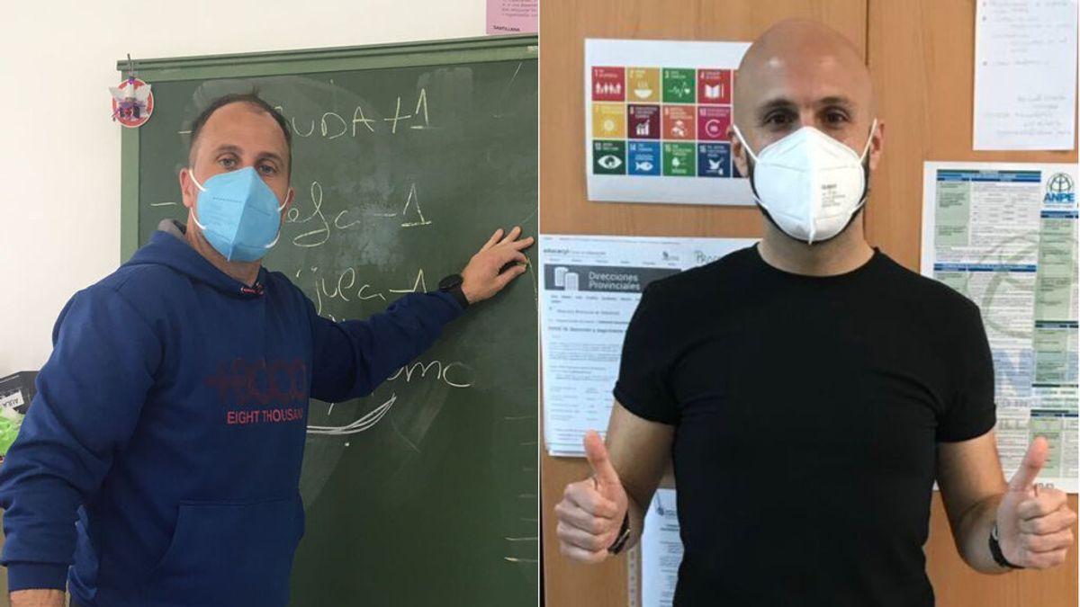 Dos profesores de Valladolid van al colegio en falda como respuesta al insulto homófobo de un alumno a otro