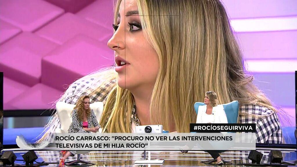 """Rocío Carrasco: """"Para mi desgracia, mi hija la misma persona que era el 27 de julio de 2012, muy a mi pesar"""""""