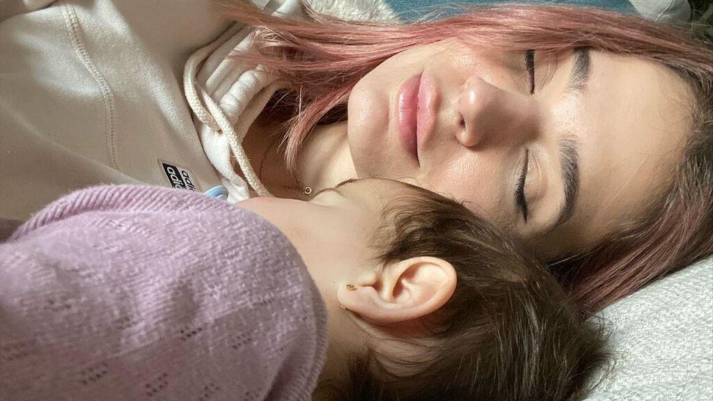 Roma, la hija de Laura Escanes y Risto Mejide, provoca el caos en su nueva casa de Madrid