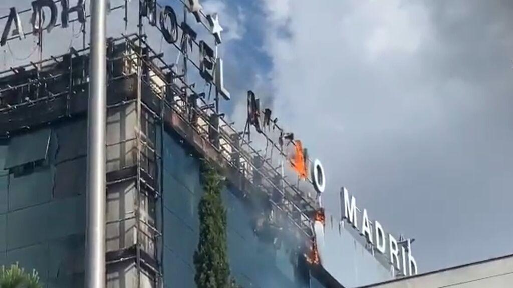 El hotel Nuevo Madrid sufre un incendio