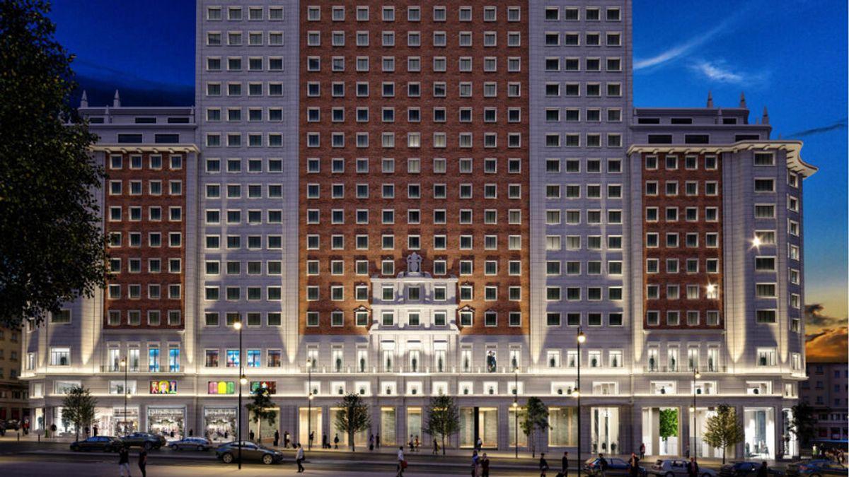 Inditex se instala en el Edificio España de Madrid para abrir Zara, Zara Home y Stradivarius