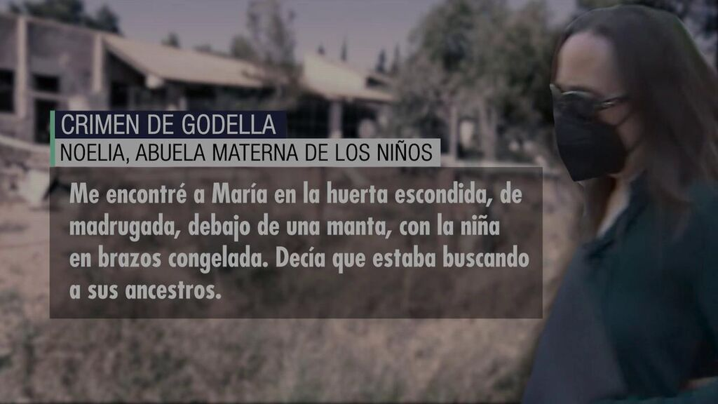 """La abuela de los niños del crimen de Godella: """"Me encontré a la niña congelada"""""""