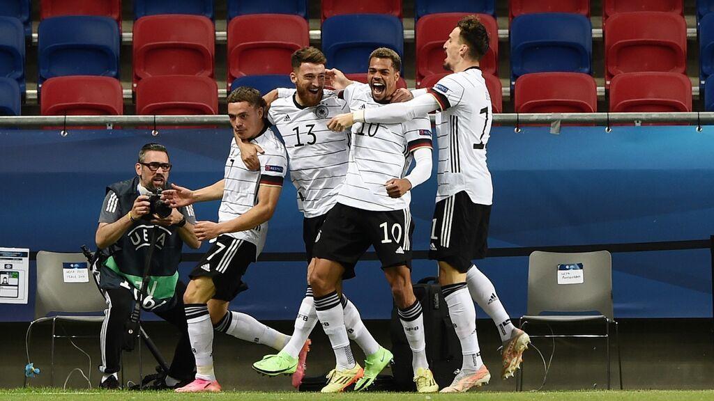 Alemania arrolla a Holanda en 8 minutos: doblete de Florian Wirtz para encarrilar las semifinales