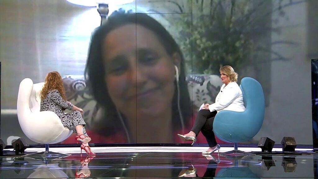 Marieta, compañera de Rocío Carrasco y víctima de violencia machista