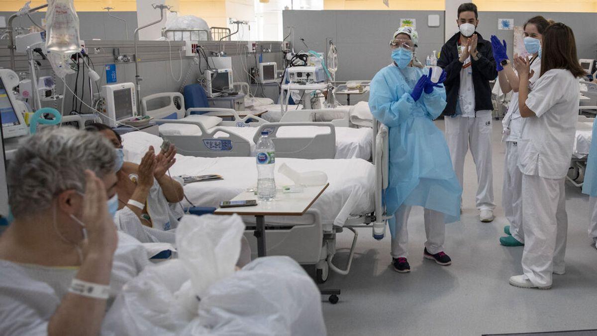 Madrid baja de 800 hospitalizados a causa del covid por primera vez desde agosto