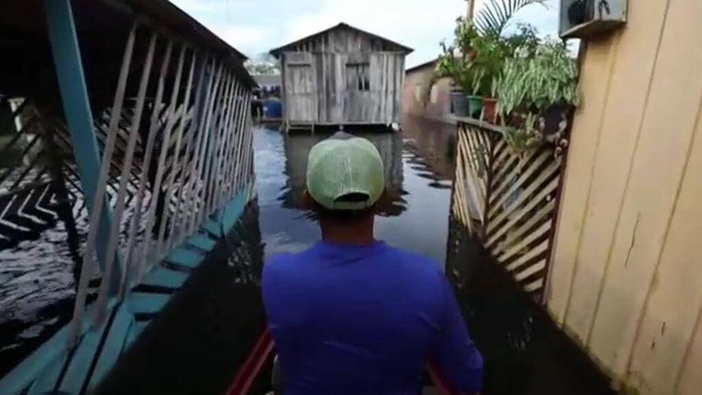 Las mayores inundaciones en un siglo ahogan la selva amazónica