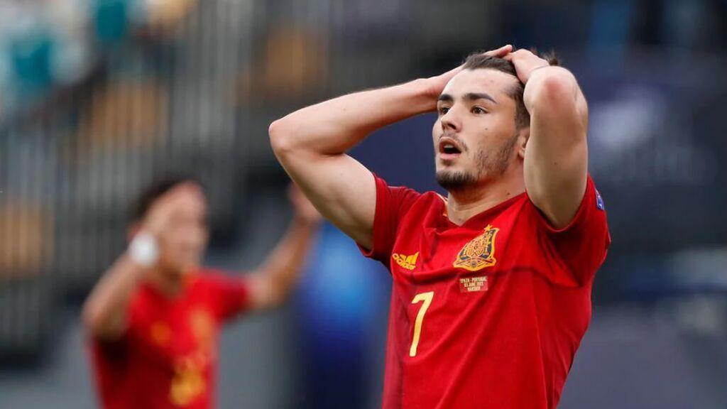 España cae en semifinales ante Portugal y no podrá revalidar su título de campeona de Europa Sub21 (0-1)