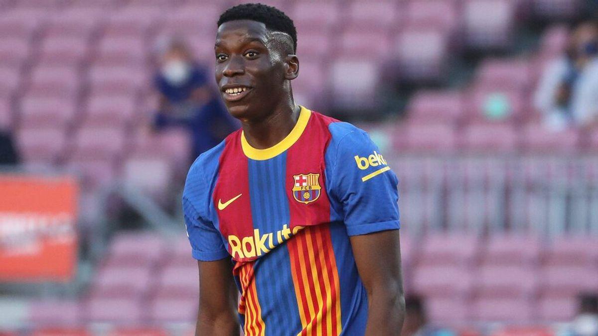 Ilaix Moriba acaba su contrato en el Barcelona en 2022.