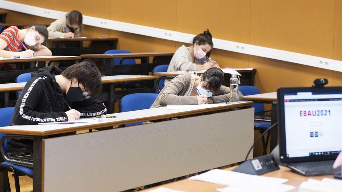 El 84% de los estudiantes de bachillerato quieren una prueba EBAU única para toda España