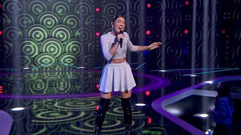 La actuación de Aida Blanco