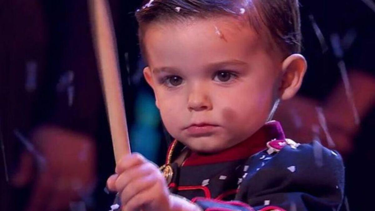 ¿Qué fue de Hugo? El niño que ganó 'Got Talent' tocando el tambor