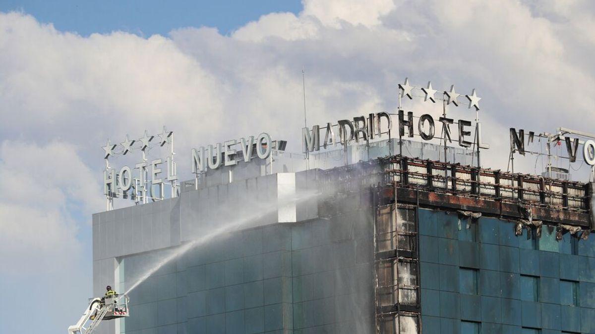 El fuego en Hotel Nuevo Madrid se originó en la planta baja y fue accidental